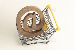 ショッピングカートの写真・画像素材[2456002]