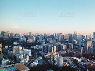 東京のスカイラインの写真・画像素材[1741062]