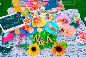 食べ物,飲み物,スイーツ,自然,公園,夏,おしゃれキャンプ,かわいい,テーブルフォト