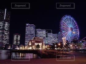 公園,夜,夜景,観覧車,横浜,デート