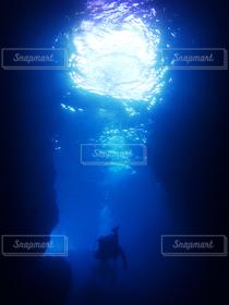 海,夏,沖縄,ダイビング,シュノーケル,青の洞窟,マリン