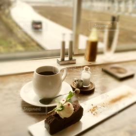 カフェ,ケーキ,コーヒー,COFFEE,道路,田舎,チョコレート,いなか