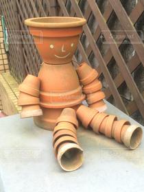 ガーデニング,植木鉢,人形,ロボット,鉢