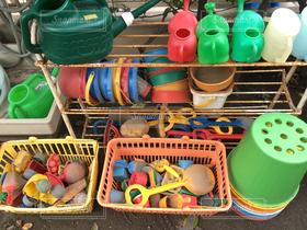 子ども,アウトドア,バケツ,スコップ,象,遊具,ジョウロ,幼稚園,整頓,スコップ砂
