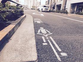 道路,景色,キヨスイ,自転車専用