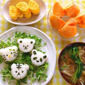 食べ物,朝食,おにぎり,和食,テーブルフォト