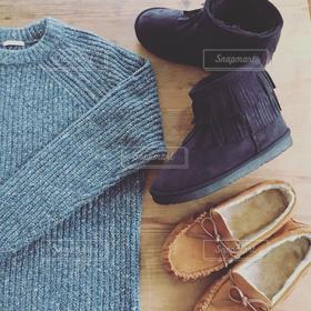 ファッション,冬,ブーツ,ニット,冬物語