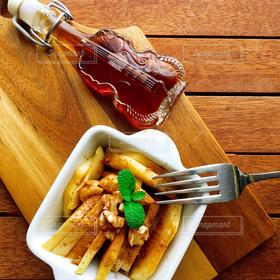 食べ物,スイーツ,カフェ,冬,りんご,ちゃいろ