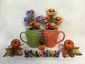 室内装飾,ハロウィン,コーヒーカップ,Halloween,キャンディ,オーナメント