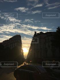 風景,空,車,パリ,Paris