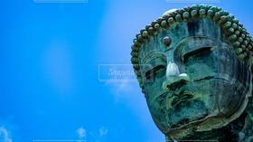 風景,アウトドア,空,建物,世界の絶景,青,大仏,日本文化