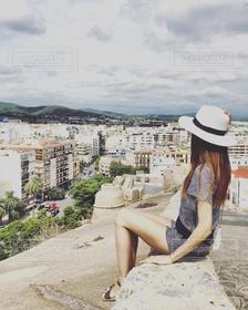 街並み,世界遺産,景色,スペイン,イビサ,旧市街,ダルトヴィラ