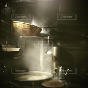キッチン,鍋,湯気,笊,厨房,ケトル,寸胴