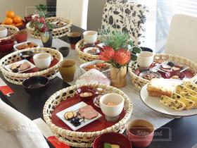 食べ物,おせち,正月,おせち料理,テーブルフォト,ホームパーティー