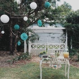 庭,屋外,結婚式,garden,バルーン,装飾,オーストラリア,ウエディング,wedding,デコ,デコレーション,海外挙式