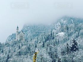 雪,城,お城,ドイツ,シンデレラ城,ノイシュヴァンシュタイン城