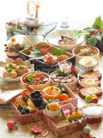 食べ物,おうちごはん,キッチン,おせち,日本,おせち料理,お正月,和食,テーブルフォト,テーブルコーディネイト