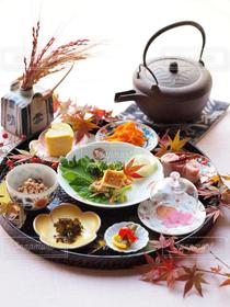 食べ物,朝食,キッチン,朝ごはん,和食,器,テーブルコーディネート,テーブルフォト,豆皿