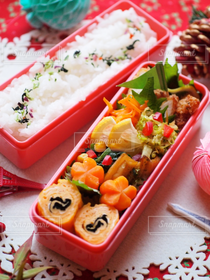 食べ物,お弁当,キッチン,クリスマス,弁当,テーブルコーディネート,テーブルフォト,料理写真
