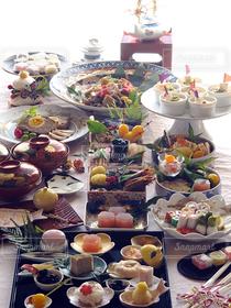 おうちごはん,キッチン,おせち,日本,おせち料理,お正月,和食,器,テーブルフォト,パーティー料理