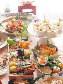 おうちごはん,おせち,おせち料理,お正月,和食,テーブルコーディネート,テーブルフォト,和食器