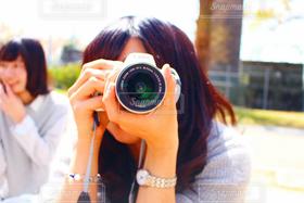 女性,1人,2人,10代,20代,風景,空,春,カメラ,カメラ女子,撮影