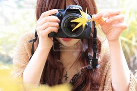 女性,20代,自然,カメラ,カメラ女子