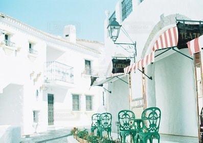 屋外,白,観光,旅行,地中海村,三重,三重県