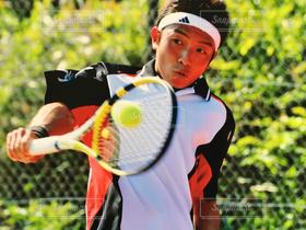 男性,1人,スポーツ,テニス