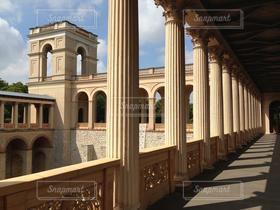 建物,黄色,城,ヨーロッパ,お城,観光,旅行,ドイツ,欧州,宮殿
