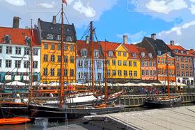 デンマーク,北欧,コペンハーゲン