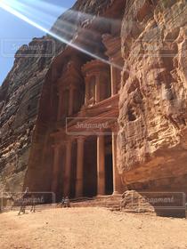 世界遺産,ヨルダン,ペトラ遺跡,エルカズネ