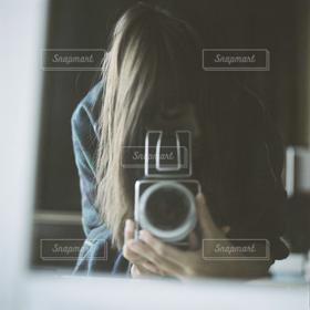 女性,カメラ,撮影,人物