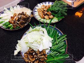 野菜,鍋,盛り付け,鍋料理,具材,鍋具材