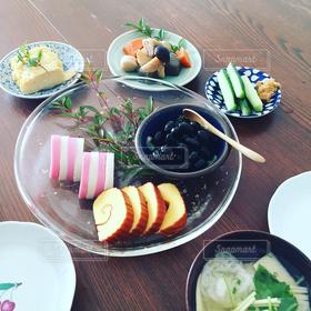 正月,おせち料理,和食,テーブルコーディネート