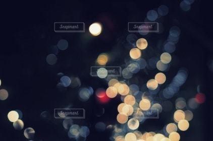 夜,夜景,ライト,光,サークル