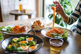食べ物,飲み物,カフェ,ランチ,パスタ,洋食,テーブルフォト