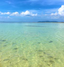 海,屋外,きれい,青空,青,景色,ブルー,美しい景色,沖縄の海,きれいな海
