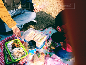 公園,お弁当,晴天,サンドウィッチ,ピクニック