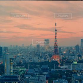 風景,空,建物,秋,東京タワー