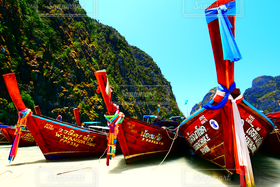 海,空,舟,ビーチ,ボート,プーケット,ピピ島,ngshn99