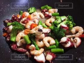 食べ物,お弁当,キッチン,海老,炒め物