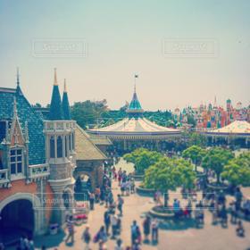 風景,空,建物,夏,テーマパーク,TDL,ディズニー