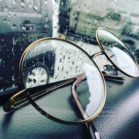 雨,車,めがね,オシャレ